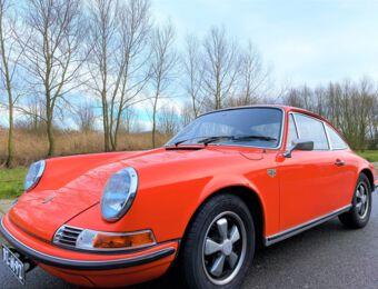 Porsche 911 2.4T ölklappe 1972 MFI