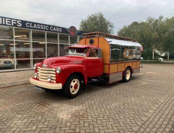 Chevrolet Roadmaster SX 6708 / Gypsy Airstream 1949