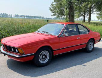 BMW 633 CSI 1979