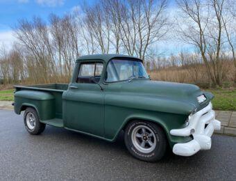 GMC 100 Pick-up side step 1956