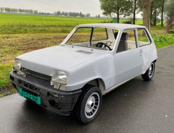 (Project) Renault Alpine Grodini Turbo 1984